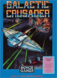 Box cover for Galactic Crusader on the Nintendo NES.