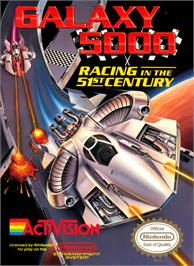 Box cover for Galaxy 5000: Racing in the 51st Century on the Nintendo NES.