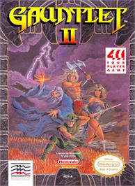 Box cover for Gauntlet II on the Nintendo NES.