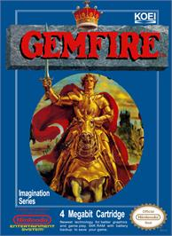Box cover for Gemfire on the Nintendo NES.