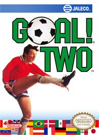 Box cover for Goal! Two on the Nintendo NES.