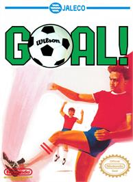 Box cover for Goal on the Nintendo NES.