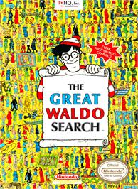 Box cover for Great Waldo Search on the Nintendo NES.