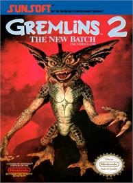 Box cover for Gremlins 2: The New Batch on the Nintendo NES.