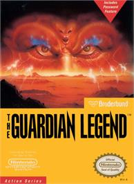 Box cover for Guardian Legend on the Nintendo NES.