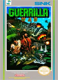Box cover for Guerrilla War on the Nintendo NES.