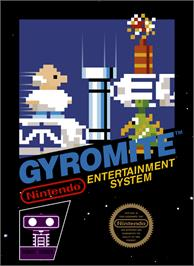 Box cover for Gyromite on the Nintendo NES.