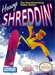 Box cover for Heavy Shreddin' on the Nintendo NES.