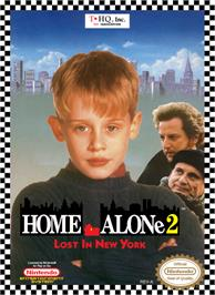 Box cover for Home Alone 2: Lost in New York on the Nintendo NES.