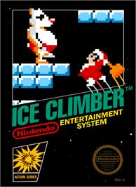 Box cover for Ice Climber on the Nintendo NES.