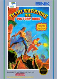 Box cover for Ikari Warriors 2 on the Nintendo NES.