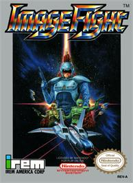 Box cover for Image Fight on the Nintendo NES.