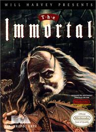 Box cover for Immortal on the Nintendo NES.