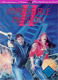 Box cover for Impossible Mission 2 on the Nintendo NES.