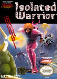 Box cover for Isolated Warrior on the Nintendo NES.