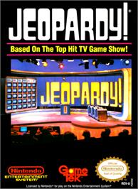 Box cover for Jeopardy on the Nintendo NES.