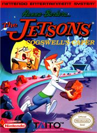 Box cover for Jetsons: Cogswell's Caper on the Nintendo NES.