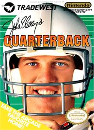 Box cover for John Elway's Quarterback on the Nintendo NES.