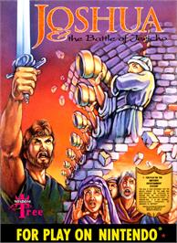Box cover for Joshua & the Battle of Jericho on the Nintendo NES.