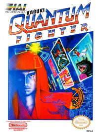 Box cover for Kabuki: Quantum Fighter on the Nintendo NES.