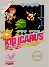 Box cover for Kid Icarus on the Nintendo NES.