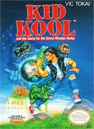 Box cover for Kid Kool and the Quest for the Seven Wonder Herbs on the Nintendo NES.