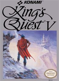 Box cover for King's Quest V: Absence Makes the Heart Go Yonder on the Nintendo NES.