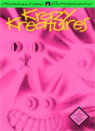 Box cover for Krazy Kreatures on the Nintendo NES.