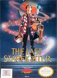 Box cover for Last Starfighter on the Nintendo NES.