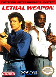 Box cover for Lethal Weapon on the Nintendo NES.