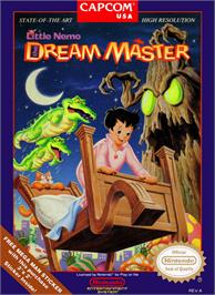 Box cover for Little Nemo: The Dream Master on the Nintendo NES.