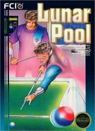 Box cover for Lunar Pool on the Nintendo NES.