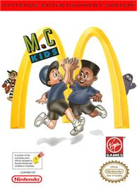 Box cover for M.C. Kids on the Nintendo NES.