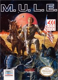 Box cover for MULE on the Nintendo NES.