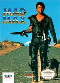 Box cover for Mad Max on the Nintendo NES.