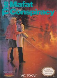 Box cover for Mafat Conspiracy on the Nintendo NES.
