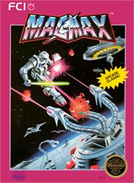 Box cover for Mag Max on the Nintendo NES.