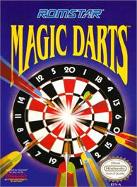 Box cover for Magic Darts on the Nintendo NES.