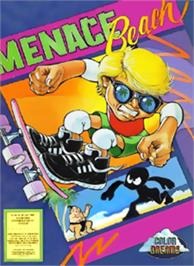 Box cover for Menace Beach on the Nintendo NES.