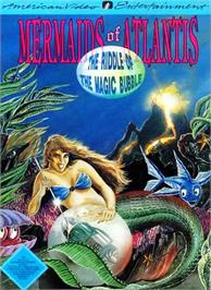Box cover for Mermaids of Atlantis: A Riddle of a Magic Bubble on the Nintendo NES.