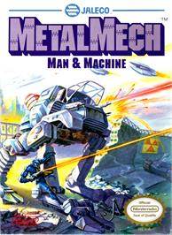 Box cover for MetalMech: Man & Machine on the Nintendo NES.