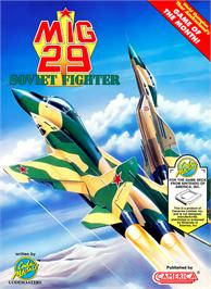 Box cover for Mig-29 Soviet Fighter on the Nintendo NES.