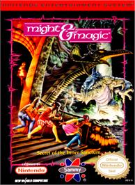 Box cover for Might and Magic: Secret of the Inner Sanctum on the Nintendo NES.