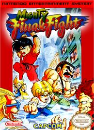 Box cover for Mighty Final Fight on the Nintendo NES.