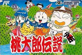 Box cover for Momotarou Densetsu Gaiden on the Nintendo NES.