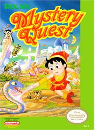 Box cover for Mystery Quest on the Nintendo NES.
