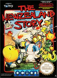 Box cover for New Zealand Story on the Nintendo NES.
