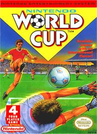 Box cover for Nintendo World Cup on the Nintendo NES.