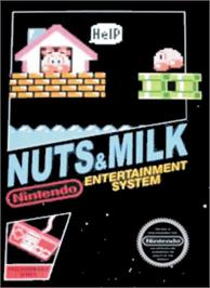 Box cover for Nuts & Milk on the Nintendo NES.