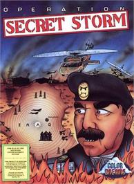 Box cover for Operation Secret Storm on the Nintendo NES.